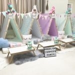 Magical Unicorn Theme teepee party, slumber parties by Angels Teepees Sydney