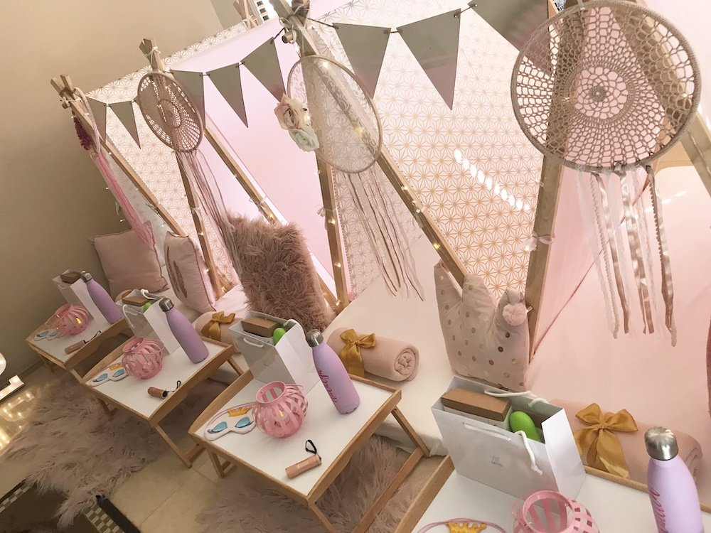 Pink Blush Themed Teepee Party by Angels Teepees, Sydney NSW