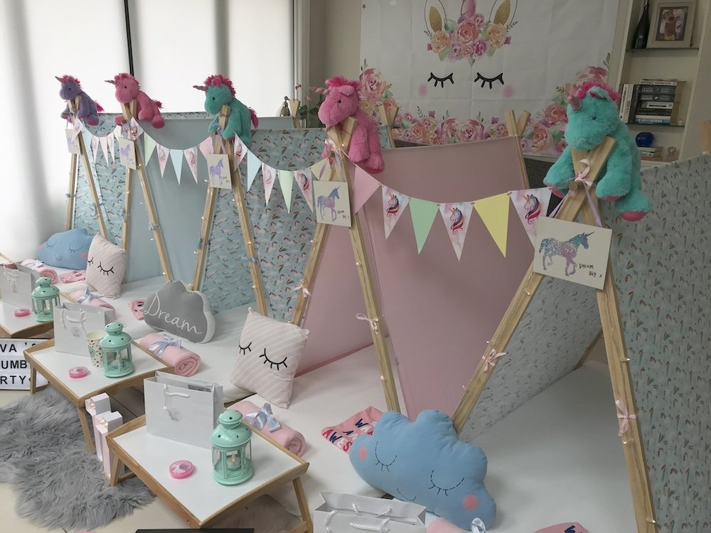Magical Unicorn Party by Angels Teepees
